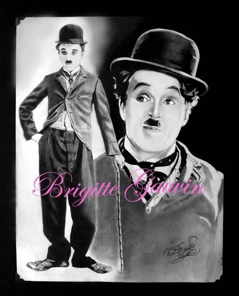 Charlie Chaplin by BrigitteGo